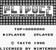 Flipull title screenshot