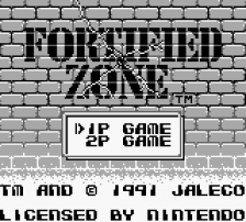Fortified Zone title screenshot