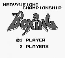 Heavyweight Championship Boxing title screenshot