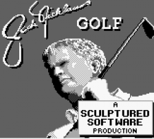 Jack Nicklaus Golf title screenshot