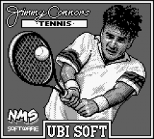 Jimmy Connors Tennis title screenshot