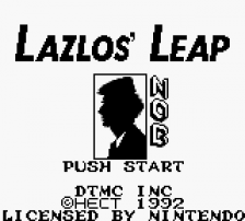 Lazlos' Leap title screenshot