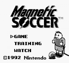 Magnetic Soccer title screenshot