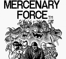 Mercenary Force title screenshot