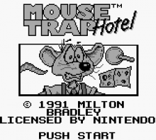 Mouse Trap Hotel title screenshot