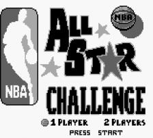 NBA All Star Challenge title screenshot