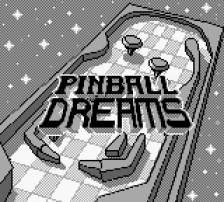Pinball Dreams title screenshot