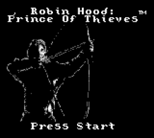Robin Hood - Prince of Thieves title screenshot