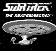 Star Trek - The Next Generation title screenshot