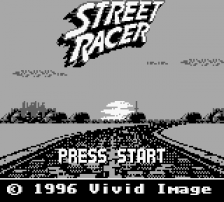 Street Racer title screenshot