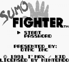 Sumo Fighter title screenshot
