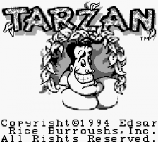 Tarzan title screenshot