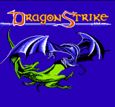 Advanced Dungeons & Dragons - DragonStrike title screenshot