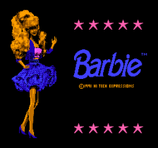 Barbie title screenshot
