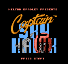 Captain Skyhawk title screenshot