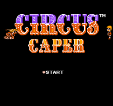 Circus Caper title screenshot