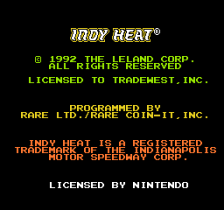 Danny Sullivan's Indy Heat title screenshot