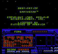 Destination Earthstar title screenshot