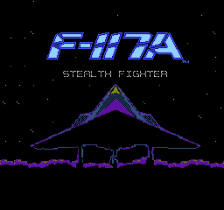 F-117A - Stealth Fighter title screenshot