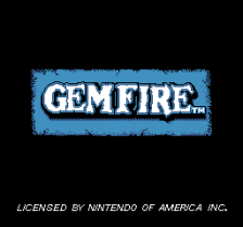 Gemfire title screenshot