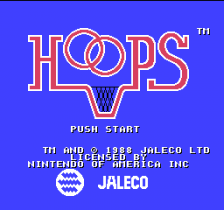 Hoops title screenshot