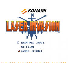 Laser Invasion title screenshot