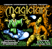 Magician title screenshot
