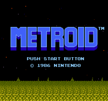 Metroid title screenshot
