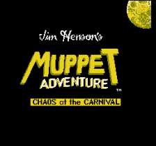 Muppet Adventure - Chaos at the Carnival title screenshot