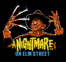 Nightmare on Elm Street, A title screenshot