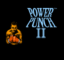 Power Punch II title screenshot