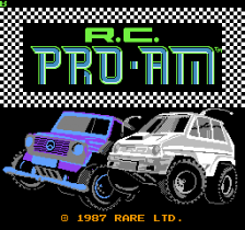 R.C. Pro-Am title screenshot