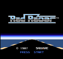 Rad Racer title screenshot
