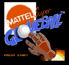Super Glove Ball title screenshot