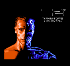Terminator 2 - Judgment Day title screenshot