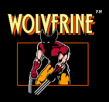 Wolverine title screenshot