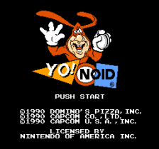 Yo! Noid title screenshot