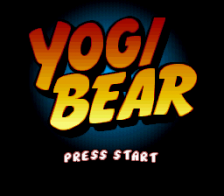 Adventures of Yogi Bear title screenshot