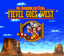 American Tail, An - Fievel Goes West title screenshot