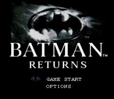 Batman Returns title screenshot