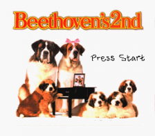 Beethoven's 2nd - The Ultimate Canine Caper ! title screenshot