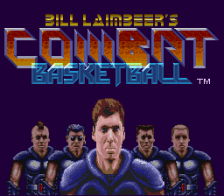 Bill Laimbeer's Combat Basketball title screenshot