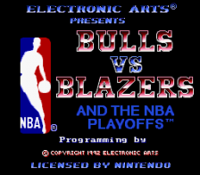 Bulls vs Blazers and the NBA Playoffs title screenshot