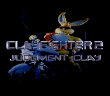 Clay Fighter 2 - Judgment Clay title screenshot