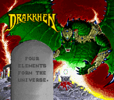 Drakkhen title screenshot