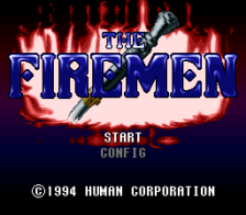 Firemen, The title screenshot