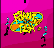 Frantic Flea title screenshot