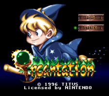 Incantation title screenshot
