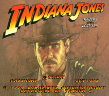 Indiana Jones' Greatest Adventures title screenshot