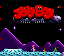 Jelly Boy title screenshot